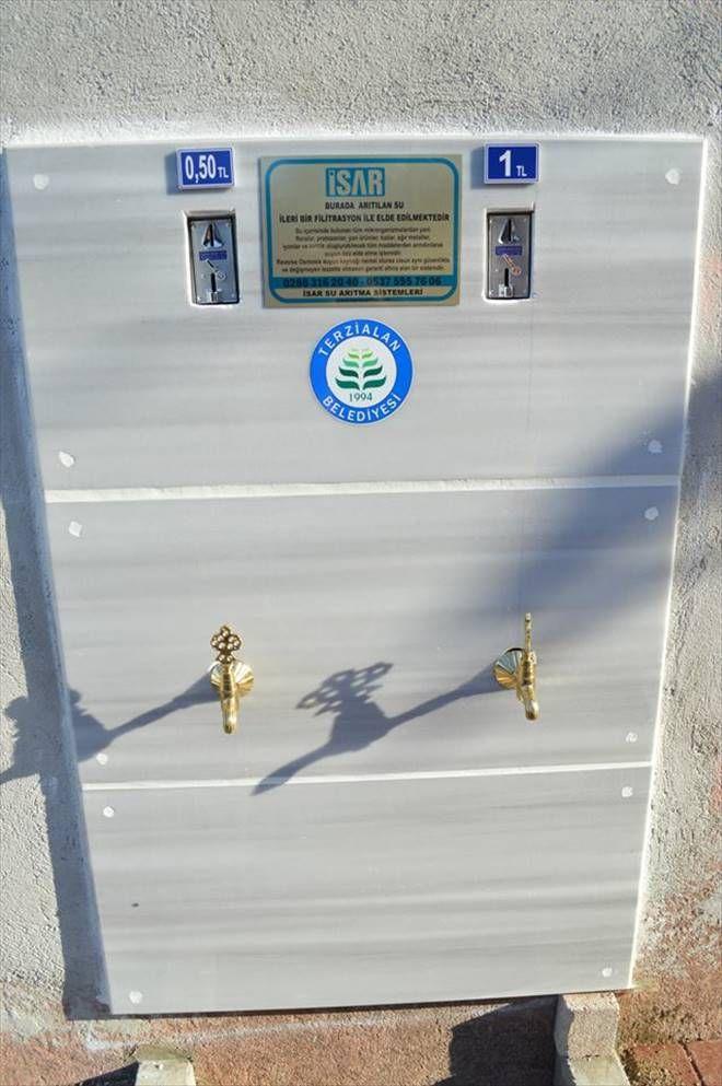 Terzialan Belediyesinden Arıtılmış İçme Suyu
