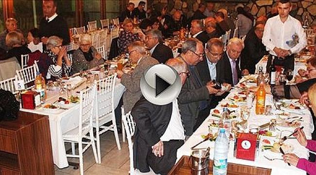 Çanlılar Yemekte Buluştu
