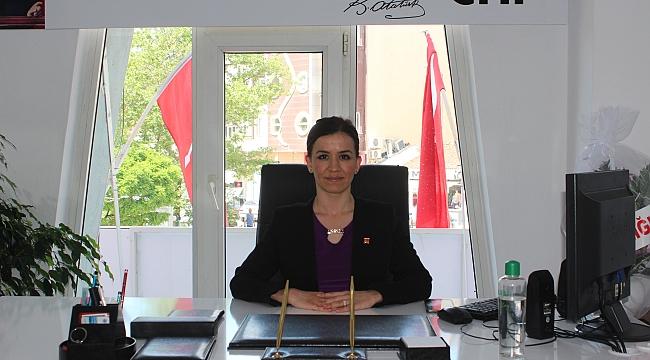 CHP Çan İlçe Başkanı Av. Ümran Aydın'dan Miraç Kandili Mesajı