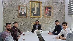 ÇOMÜ Öğrenci Konseyinden Vali Orhan Tavlı'ya Ziyaret