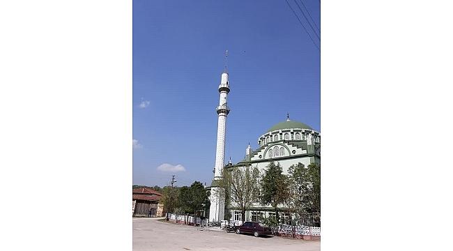 Minareye Yeni Külah Kondu