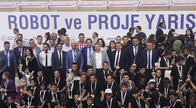 TROYA 2018 ÇAN ROBOT VE PROJE YARIŞMASI ÖDÜLLERİ, SAHİPLERİNİ BULDU