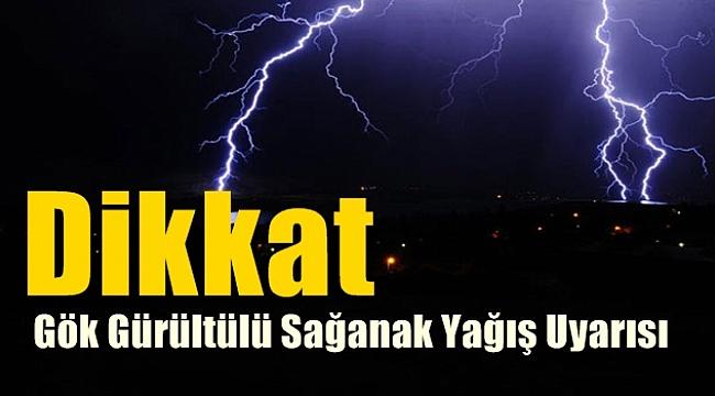 Kuvvetli Sağanak ve Gök gürültülü Sağanak Yağış, Bekleniyor!..