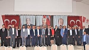 MHP Çan İlçe Teşkilatı İftar Yemeği Düzenledi