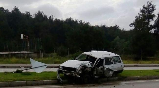 Tepeköy Sırtında Kaza!