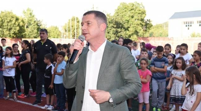 Çan'da Yüzlerce Öğrenci 10.Yaz Spor Okulları ile Yaza Merhaba Dedi