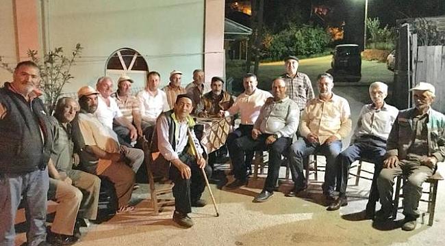 Çan Ak Parti İlçe Teşkilatı'nın Teşekkür Ziyaretleri Sürüyor