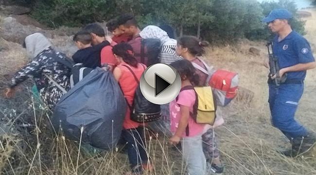 Çanakkale'de 48 Kaçak Yakalandı!