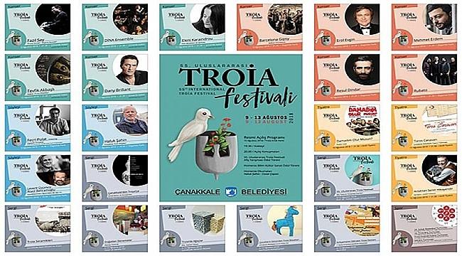 55. Uluslararası Troia Festivali Bugün Başlıyor