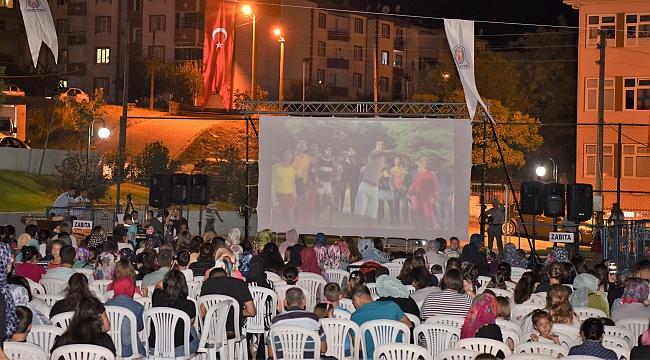 Çan Belediyesi Açık Hava Sinema Geceleri Başladı!