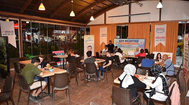 Çan Belediyesi'nden Gençlere Kariyer Danışmanlık Hizmeti