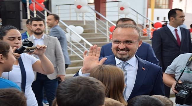 """AK Parti Grup Başkan Vekili Turan: """"Bu Sene Eğitime Ayrılan Bütçe 135 Milyarı Buldu"""""""