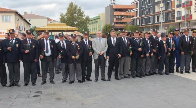 Çan´da 19 Eylül Gaziler Günü Kutlandı