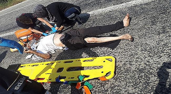 Çan'da Trafik Kazası: 1 Yaralı!