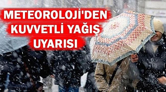 Çanakkale ve İlçelerinde Kuvvetli Yağış Uyarısı!