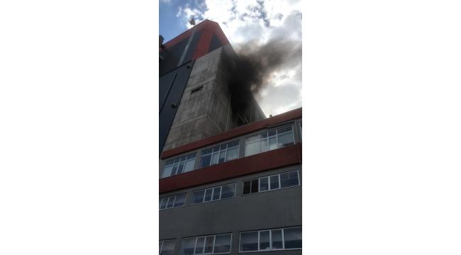 Odaş Çan-2 Termik Santralinde Yangın Çıktı
