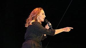 Sertab Erener, Performansıyla Biga'yı Salladı
