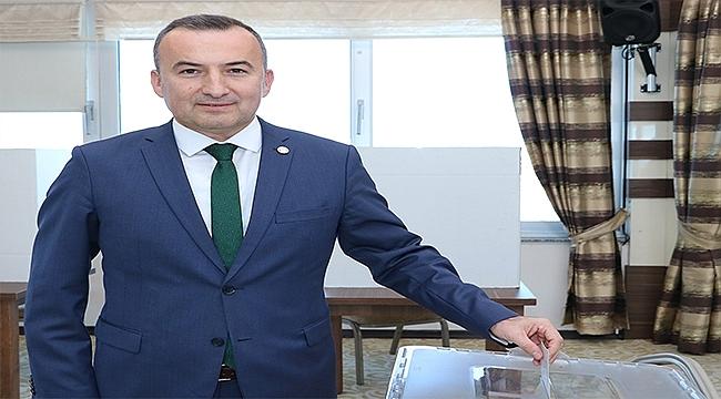 Av. Bülent Şarlan 4. Kez Baro Başkanı Seçildi