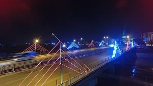 Çan Belediyesi Şehri Işıklandırmaya Devam Ediyor