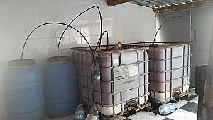 Kaçak İçki Üretim Tesisine Baskın!
