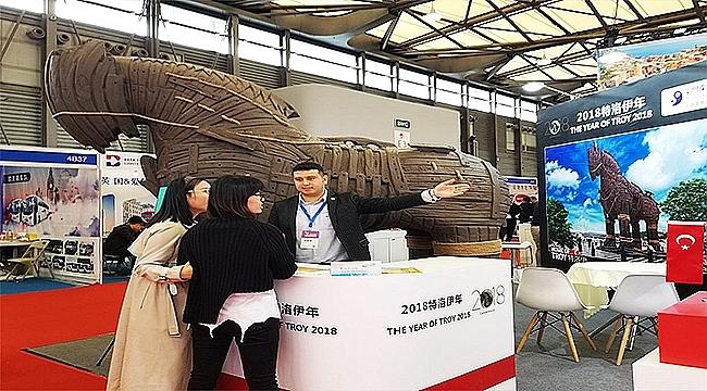 2018 Troya Yılı Bu Kez Çin'de Tanıtıldı