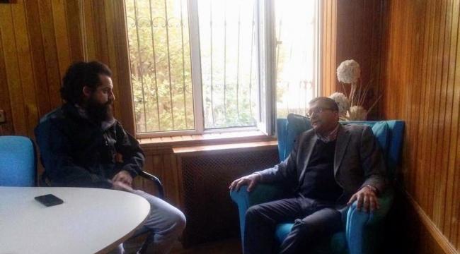 Bülent Öz, Çan Medya Grubunu Ziyaret Etti
