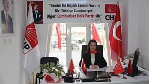 CHP Çan İlçe Başkanı Av. Ümran Aydın'ın Mevlid Kandili Mesajı