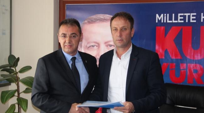 Erhan Kahraman, Ak Parti Çan Belediye Başkan Aday Adaylığını Açıkladı