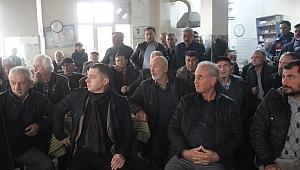 Helvacı Köyünde Yapılan ÇED Toplantısında Tansiyonlar Yükseldi