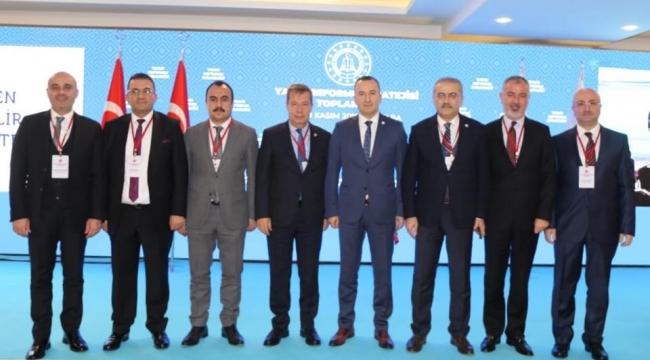 BARO BAŞKANI AV. BÜLENT ŞARLAN  YARGI REFORMU STRATEJİSİ TOPLANTISI İÇİN ANKARA'DAYDI