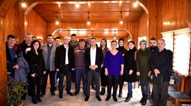 Başkan Kuzu, Çalışan Gazeteciler İle Bir Araya Geldi