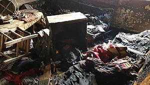 Biga'da Çıkan Yangında 1 Kişi Öldü!