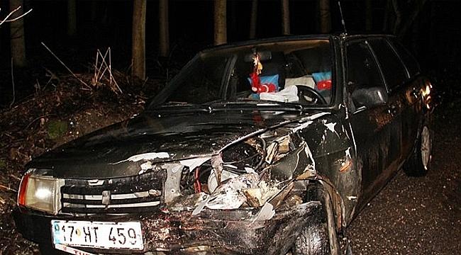 Çan'da Trafik Kazası!