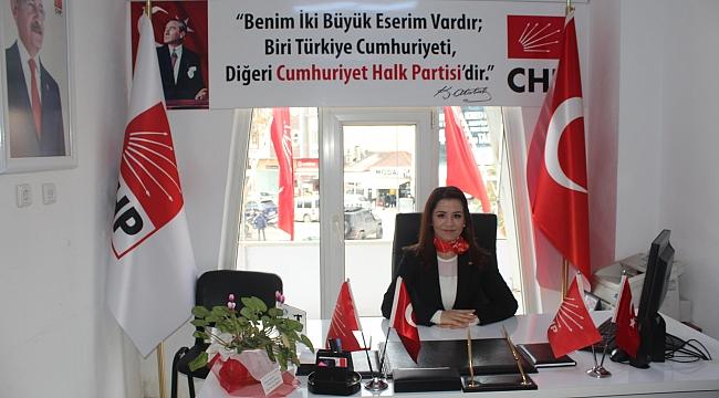 CHP Çan İlçe Başkanı Av. Ümran Aydın'ın 10 Ocak Gazeteciler Günü Mesajı