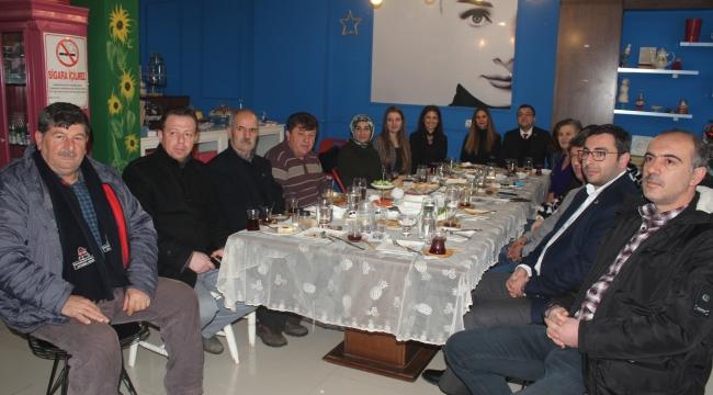 CHP Çan İlçe Teşkilatından Basın Mensuplarına Kahvaltı