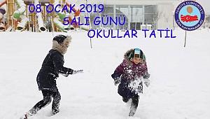 Okullara Kar Tatili!