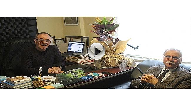 Başkan Gökhan Kanalımız Çanakkale Tv'yi Ziyaret Etti