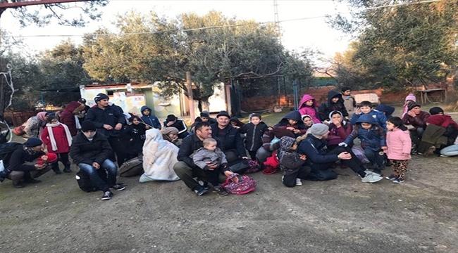 Çanakkale'de 166 Mülteci Yakalandı!