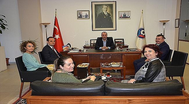Çanakkale SGK ve İŞKUR İl Müdürleri ÇTSO Yönetim Kurulunu Ziyaret Etti