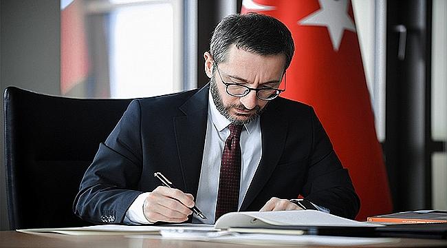 Cumhurbaşkanlığı İletişim Başkanı Prof. Dr. Fahrettin Altun,