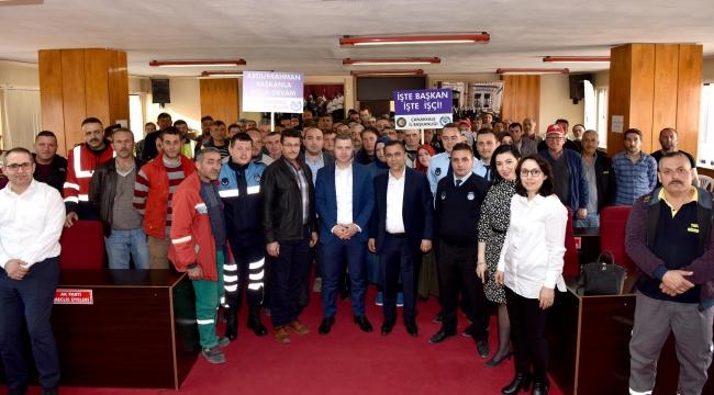 Çan Belediyesi, Hizmet-İş İle Toplu Sözleşme İmzaladı