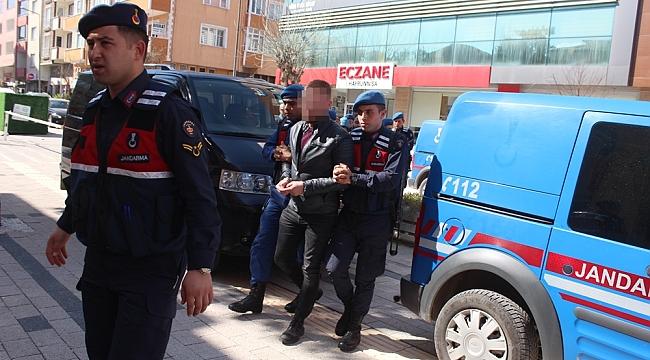 Çan'da Silahlı Gasp Yapan Soyguncular Yakalandı
