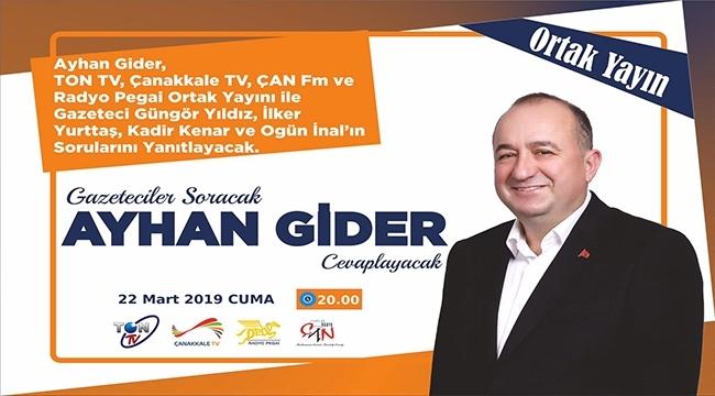 Gazeteciler Soracak, Ayhan Gider Cevaplayacak