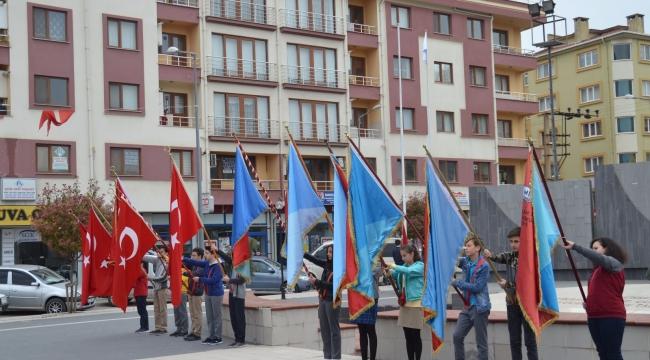 Çan´da 23 Nisan Ulusal Egemenlik Ve Çocuk Bayramı Kutlandı