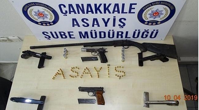 Çanakkale'de 14 Kişilik Silahlı Çete Çökertildi