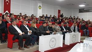 STK Başkanları ve Çan Esnafı Toplantıda Buluştu
