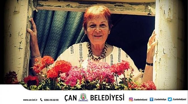 Çan Belediye Başkanı Bülent Öz'ün Prof. Dr. Türkan Saylan'ı Anma Mesajı