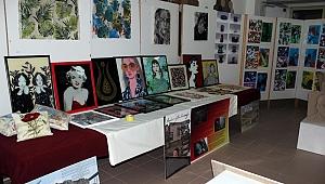 Çan MYO El Sanatları Bölümü Öğrenci ve Öğretim Üyelerinden Sanatsal Sergi