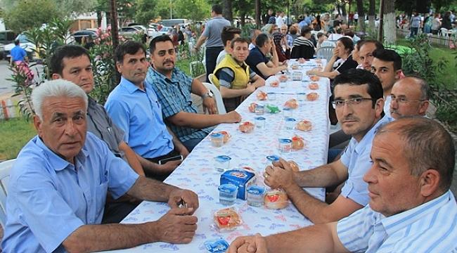 CHP Çan İlçe Teşkilatı İftar Yemeği Düzenledi