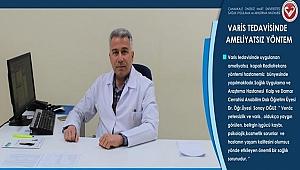 ÇOMÜ Hastanesinde Varis Tedavisine Ameliyatsız Yöntem
